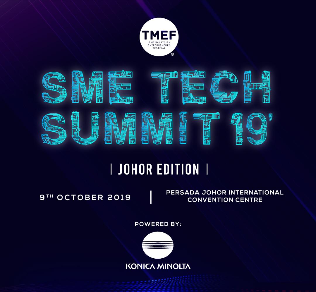 SME Tech Summit 2019 - Johor